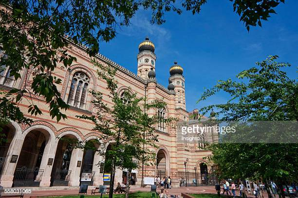 Great Synagogue On Dohany Street Budapest Hungary