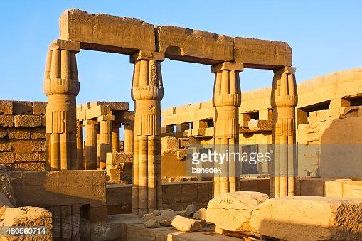 Great Temple of Amun at Karnak Luxor Egypt : Stock Photo