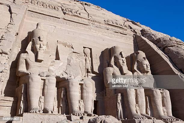 Great Temple of Pharaoh Ramesses II Abu Simbel Egypt