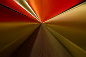 Great vanishing point with speed in the metro.