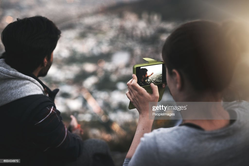 Great views equal great photographs : Stock Photo