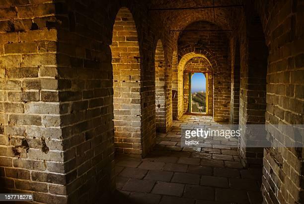 万里の長城の内部
