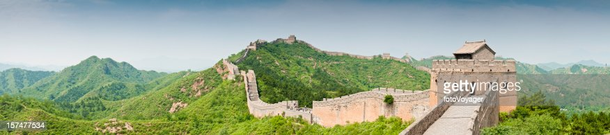 Great Wall of China Jinshanling panorama