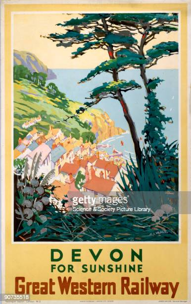 Great Western Railway poster Artwork by S I Veale