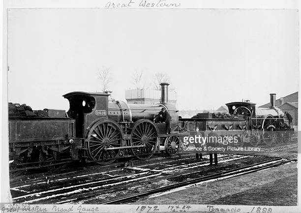 Great Western Railway steam locomotives late 19th century Locomotive number 2019 is dated 1872 The 'Tornado' is dated 1888