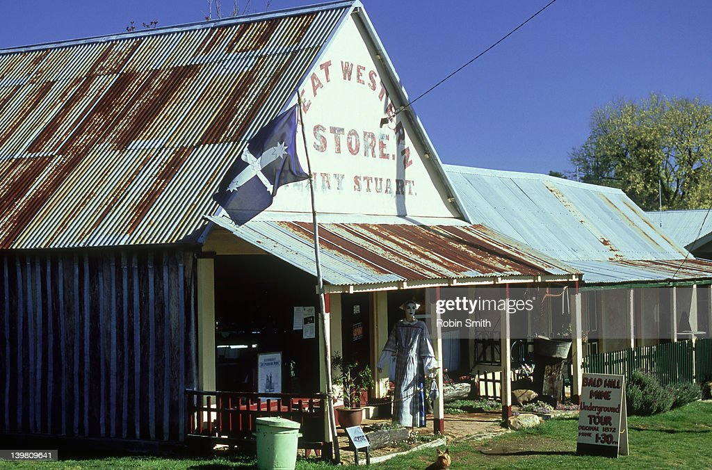 Great Western Store, Hill End, NSW : Stock Photo