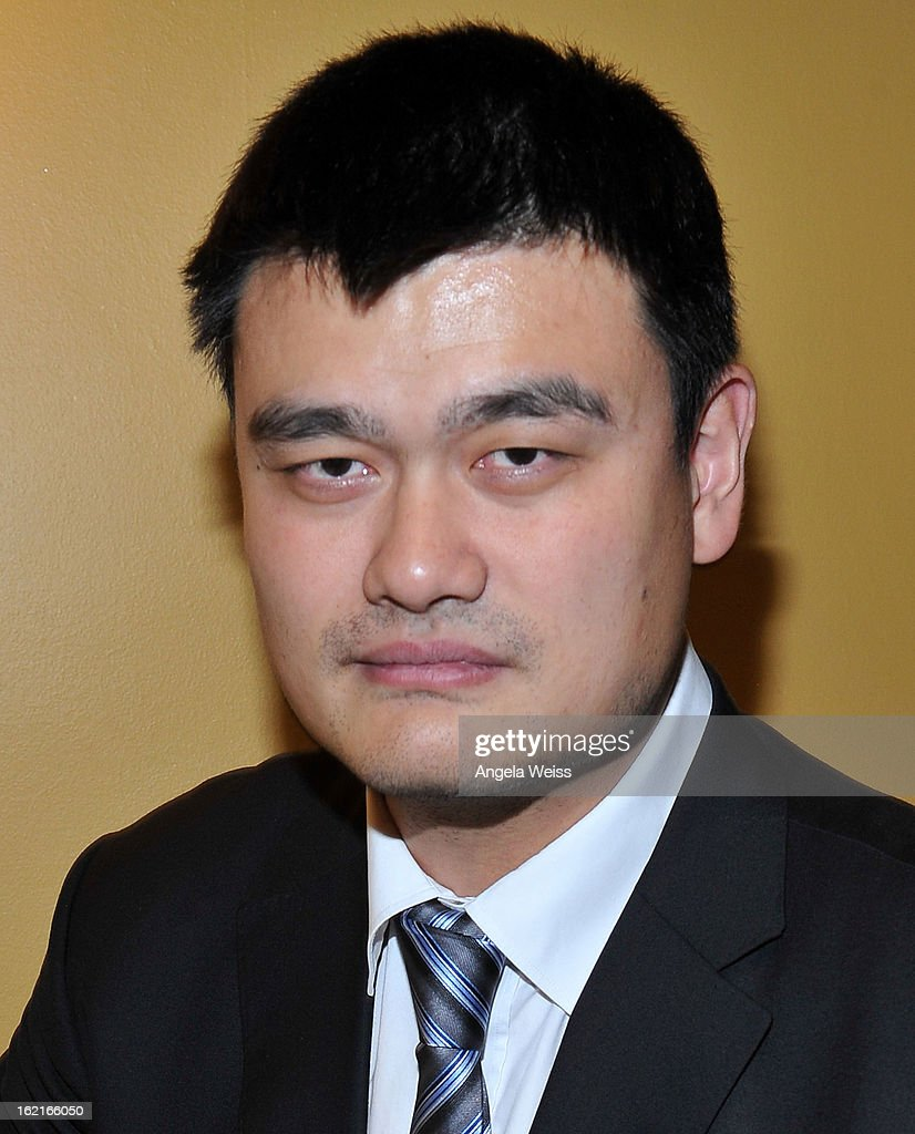 Great <a gi-track='captionPersonalityLinkClicked' href=/galleries/search?phrase=Yao+Ming&family=editorial&specificpeople=201476 ng-click='$event.stopPropagation()'>Yao Ming</a> attends the Girard-Perregaux and Asia Society event honoring NBA Great <a gi-track='captionPersonalityLinkClicked' href=/galleries/search?phrase=Yao+Ming&family=editorial&specificpeople=201476 ng-click='$event.stopPropagation()'>Yao Ming</a> with Steve Nash at Millennium Biltmore Hotel on February 19, 2013 in Los Angeles, California.