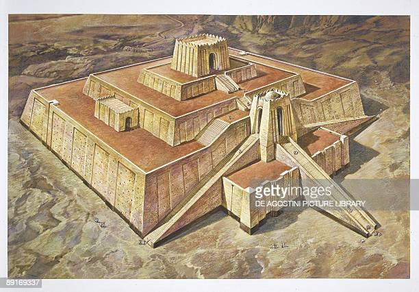 Great Ziggurat of Ur illustration