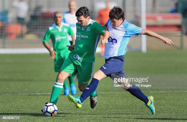 Greater Manchester's Mayor Andy Burnham taking part in the Labour v Journalists annual football match at Brighton and Hove Albion's American Express...
