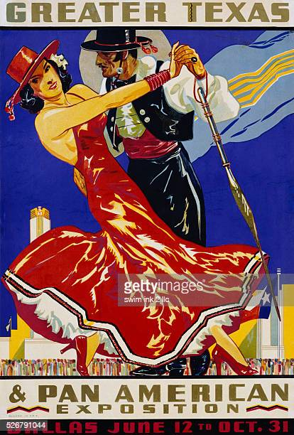 Greater Texas Pan American Exposition Advertising Poster