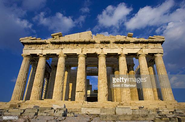 Greece, Athens, Acropolis, Parthenon.