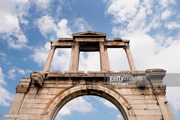 Greece, Athens, Hadrians Gate