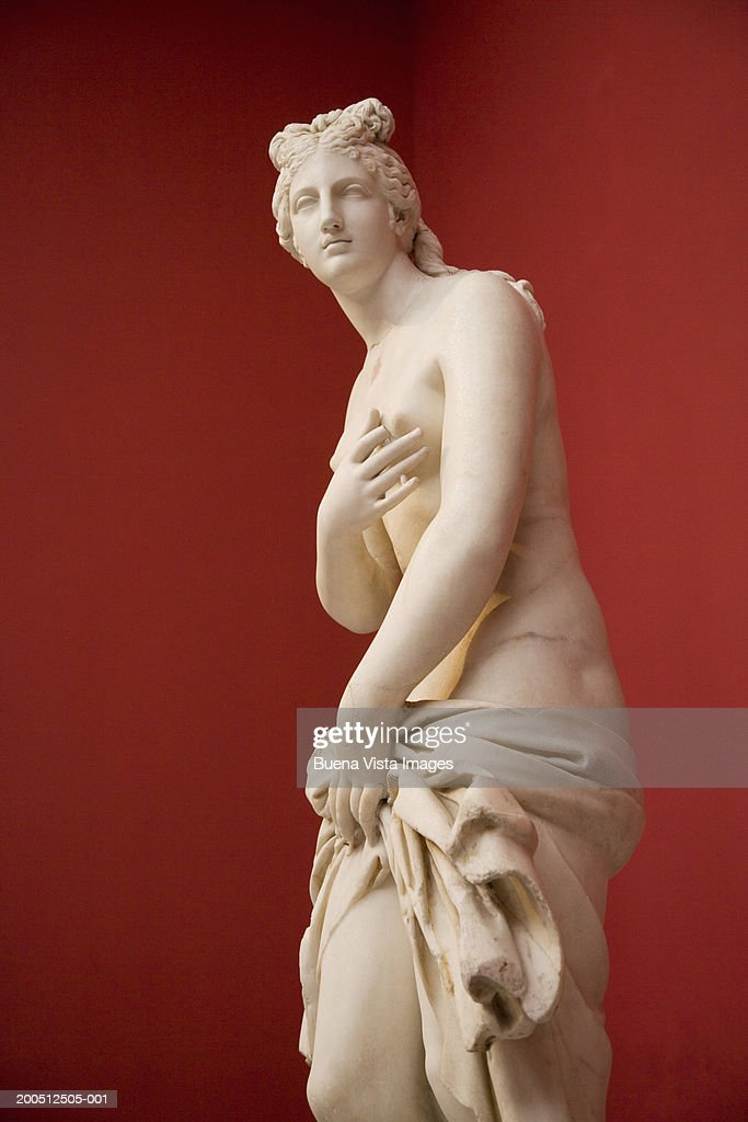 Greece, Athens, National Museum of Archaeology, statue of Aphrodite