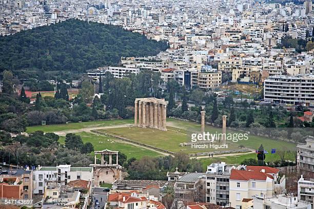 Greece, Athens, Temple of Olympia, Zeus