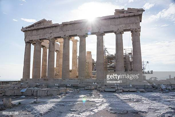 Greece, Athens, view to acropolis