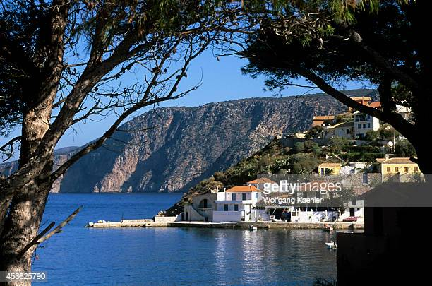 Greece Cephalonia Assos Fishing Village