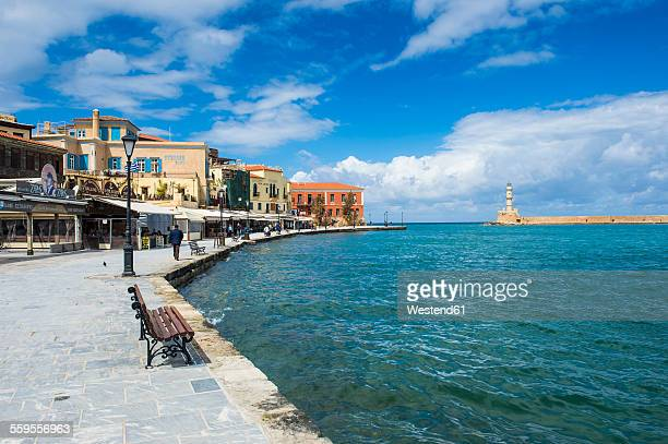 Greece, Crete, Chania, Venetian harbour