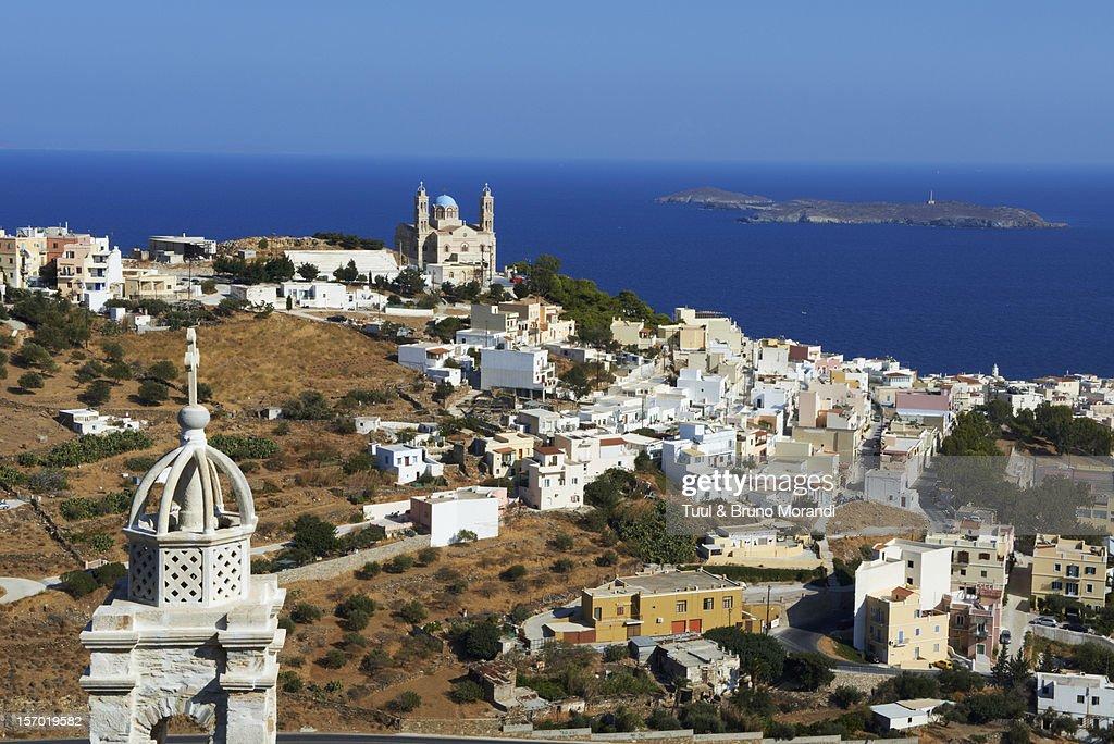 Greece, Cyclades islands, Syros island, Ermoupoli
