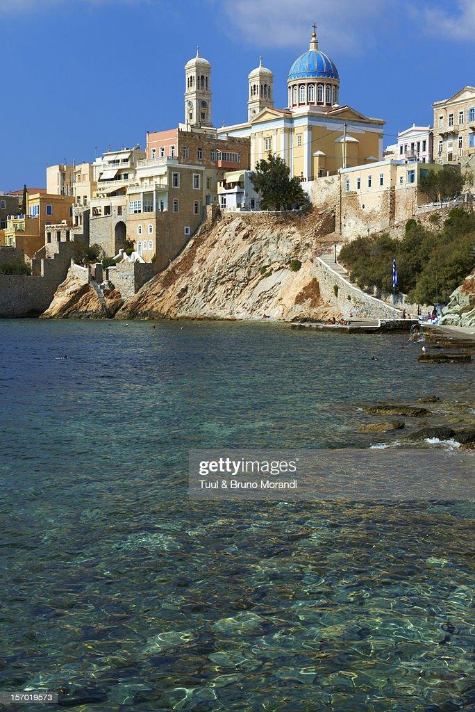 Greece, Cyclades, Syros, Ermoupoli