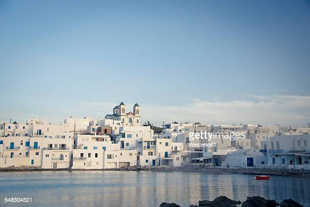 Greece, Cyclades, townscape of Paros