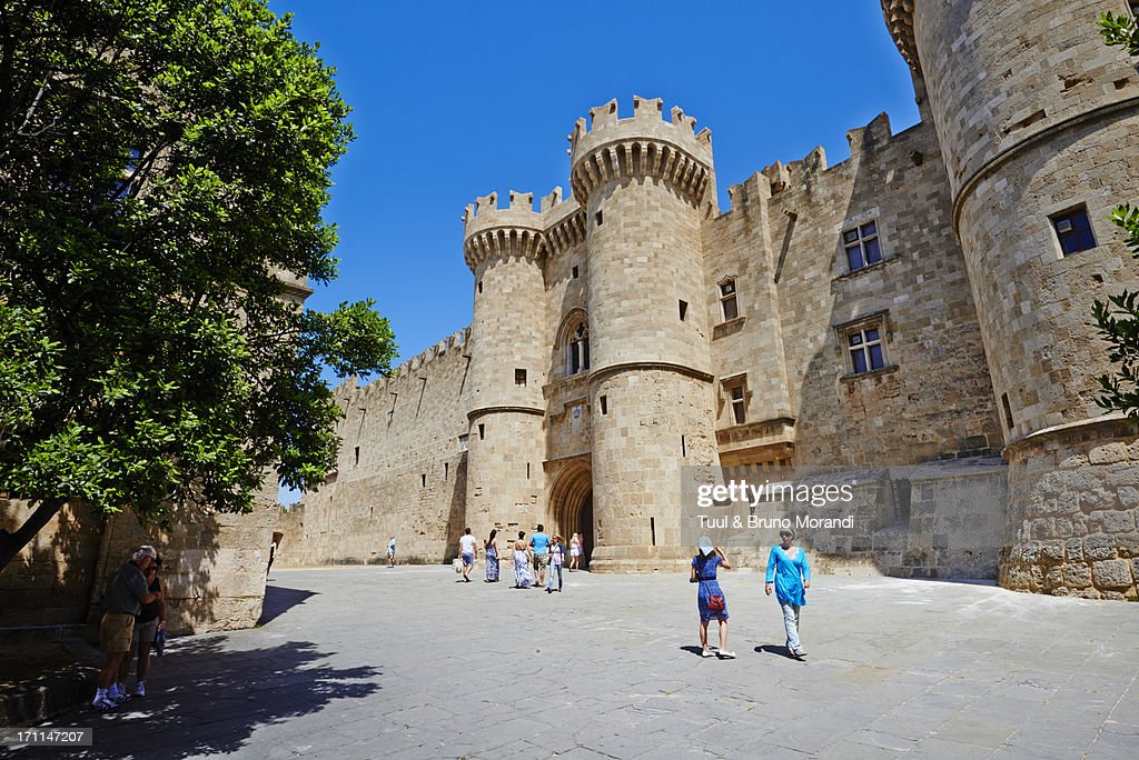 Greece, Dodecanese, Rhodes, Grand Masters Palace