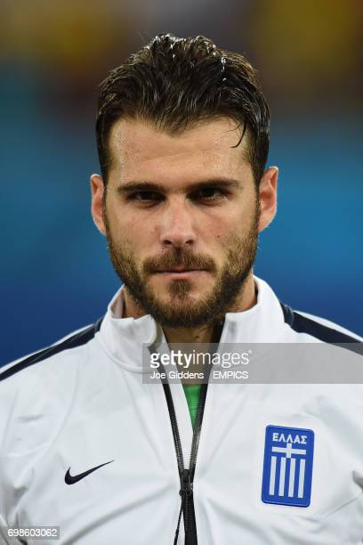 Greece goalkeeper Orestis Karnezis