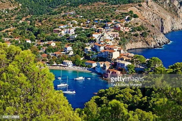 Greece, Ionian island, Cephalonia, Assos village