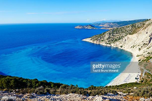 Greece, Ionian island, Cephalonia, Myrtos beach