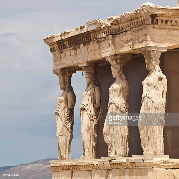Greece  Landmark of Erechtheum temple