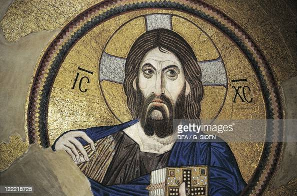 Greece attica athens chaidari daphni monastery mosaic with christ pantocrator 11th century - Before and after a more than century old house comes back to life ...