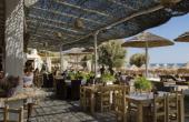 Greece Mykonos Paradise Beach restaurant Kalo Livadi resort that singles come to relax