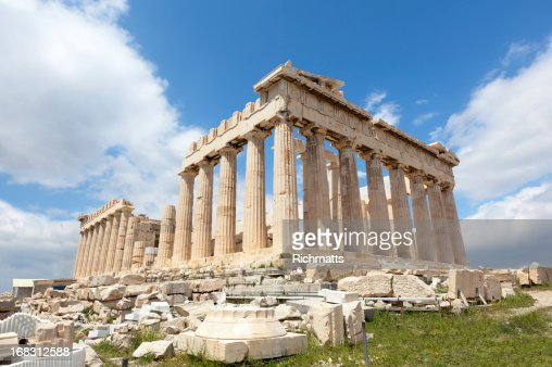 Greece. Parthenon Without Scaffolds.