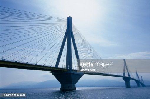 Greece, Patras, Rion-Antirion Bridge