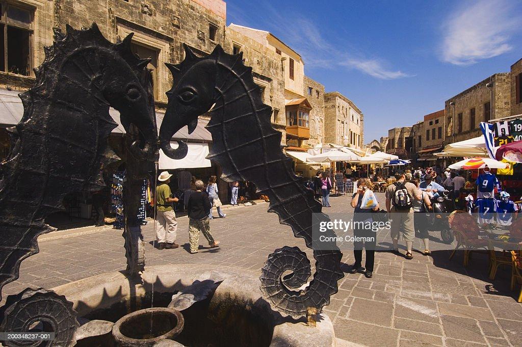 Greece, Rhodes Island, Rhodes, Jewish Martyrs Square