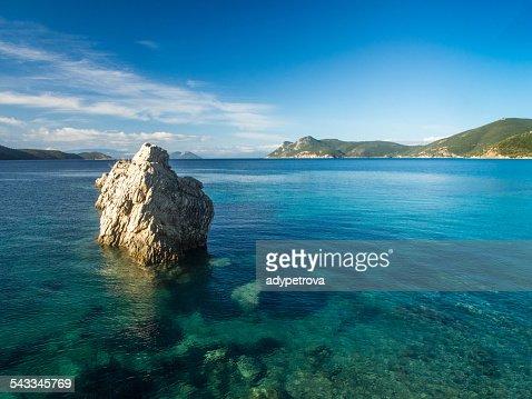 Greece, Scenic view of island