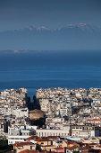 Greece, Thessaloniki, city view