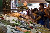 Greece, Thessaloniki, Modiano market