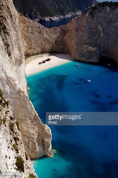 Greece Zakynthos Island Navagio Beach Ionian Islands