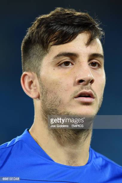 Greece's Konstantinos Manolas during a training session at Arena das Dunas in Natal