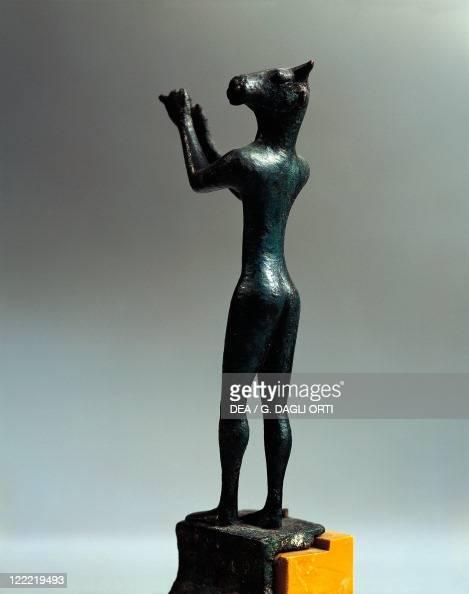 Greek civilization 6th century bC Bronze statuette depicting the Minotaur