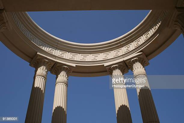 Greek columns monument