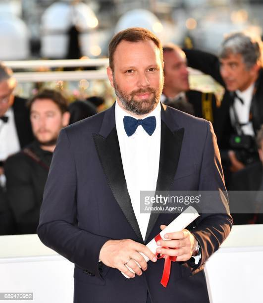 Greek director Yorgos Lanthimos poses during the Award Winners photocall after he won the Best Screenplay award for the film The Killing of a Sacred...