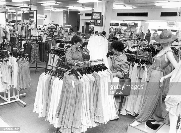 Greek Fashions just a small part of Owen Owen ladies fashion department 10th June 1983