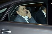 Greek Finance Minister Euclide Tsakalotos leaves a Eurogroup meeting discussing the Greek crisis in Brussels early on July 12 2015 Eurozone finance...