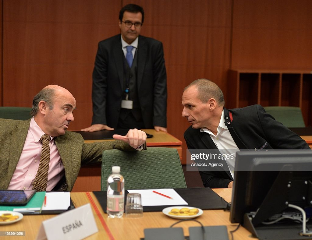 Eurozone Finance Ministers Meeting in Brussels
