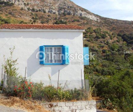 greek house : Stock Photo