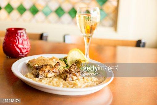 Greek Lemon Chicken with Orzo