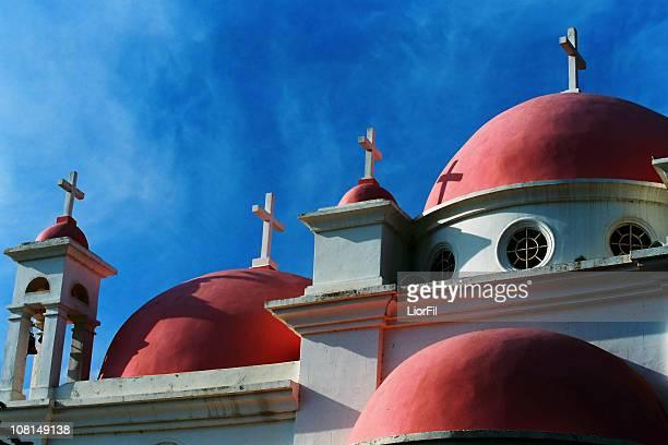 Greek Orthodox Church Against Blue Sky