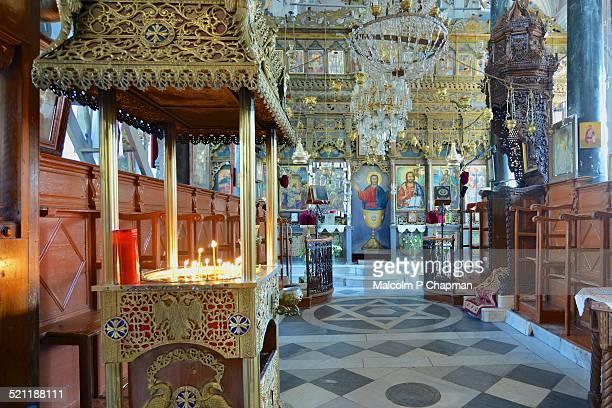 Greek Orthodox Church, Petra, Lesvos, Greece