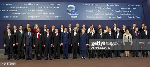 Greek Prime Minister Antonis Samaras Irish Prime Minister Enda Kenny Croatian Prime Minister Zoran Milanovic Danish Prime Minister Helle...